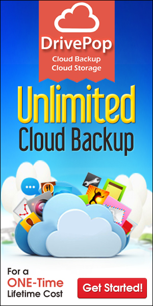 lifetime cloud backup for readers of EyeOnWindows.com